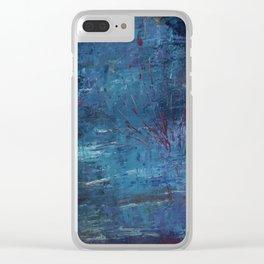Make a splash Clear iPhone Case
