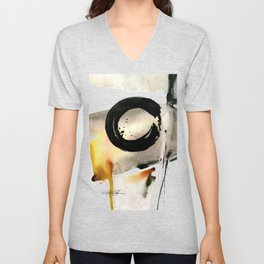Enso Abstraction No. 105 by Kathy morton Stanion Unisex V-Neck