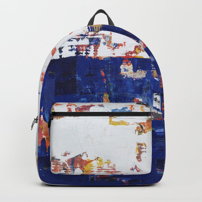Myth Modern Art Blue Backpack