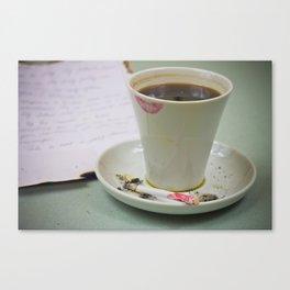 Coffee-2 Canvas Print