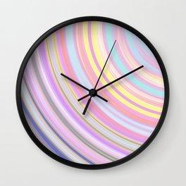 abstract mix Wall Clock