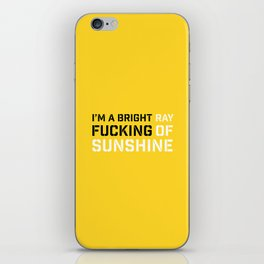 RAY OF SUNSHINE iPhone Skin