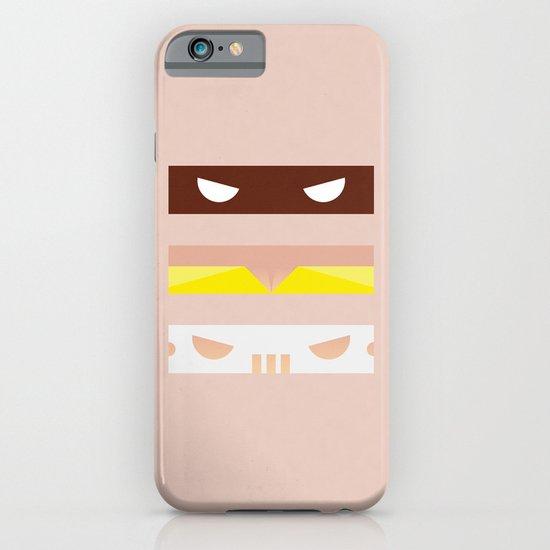 Teenage Minimal Ninja Good Guys iPhone & iPod Case