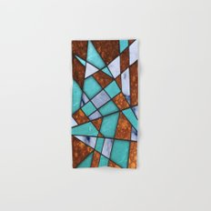 #477 Marble Shards & Copper Hand & Bath Towel