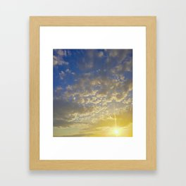Sunset 2.0 Framed Art Print