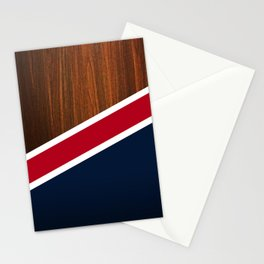 Wooden New England Stationery Cards