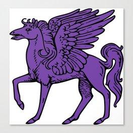 Pegasus shield 6. Canvas Print