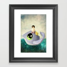 If I Could Have a Pet Framed Art Print