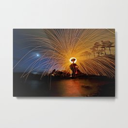 Laguna Sparks  7/1/14   Metal Print