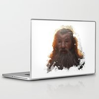 gandalf Laptop & iPad Skins featuring Gandalf by Ryky