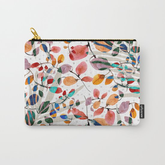 Plants abstratc Carry-All Pouch