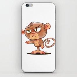 Animals N' Stuff Series - 1 - Monkey iPhone Skin