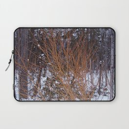 Bright Young Tree -  Fire Bush Laptop Sleeve