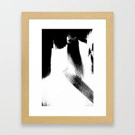 Black Door 1 Framed Art Print