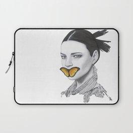 Speak No Evil - Flower Girl Series Laptop Sleeve