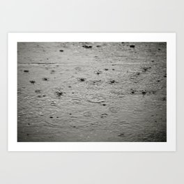 A Thousand Little Rain Drops... Art Print