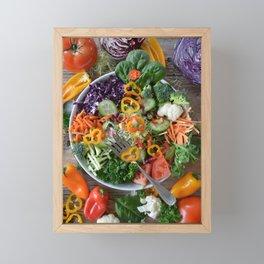 Vegan summer II Framed Mini Art Print