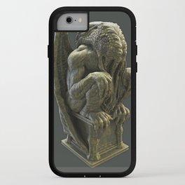 Cthulhu Statuette II iPhone Case
