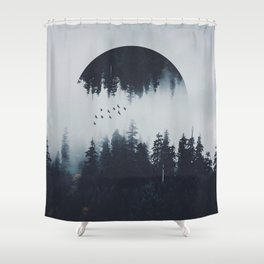 INTROVERT Shower Curtain