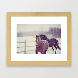 Dream with me Framed Art Print