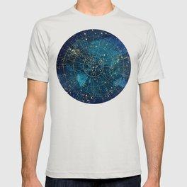 Star Map :: City Lights T-shirt