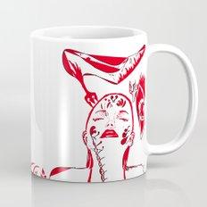 abstract woman Mug