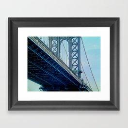 Manhattan Bridge - NYC Framed Art Print