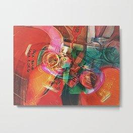 DC 4 Metal Print