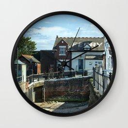 Fleetwood to Knott End Ferry - England Wall Clock