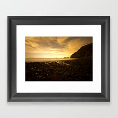Island Star Gazing  Framed Art Print
