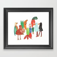 Todos. Framed Art Print