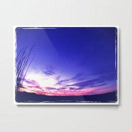 Big Sky Sunset Metal Print