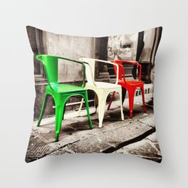 Si Si Italy Throw Pillow