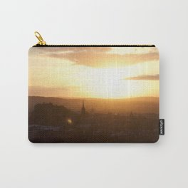 Salisbury Crags overlooking Edinburgh at sunset 3 Carry-All Pouch
