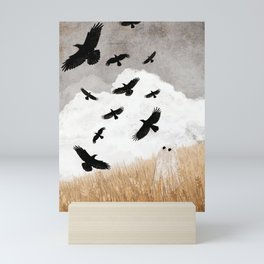 Walter and The Crows Mini Art Print