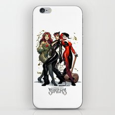 Sirens Gotham city iPhone & iPod Skin