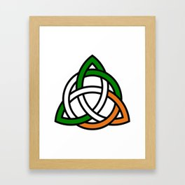 Celtic Knot Framed Art Print