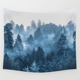 Blue Forest Melody  - 18/365 Wall Tapestry