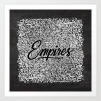 EMPIRES Art Print