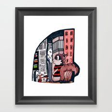 Oh What A World! Framed Art Print
