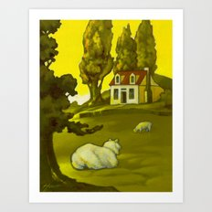 The Homestead Art Print