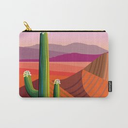 Saguaro Flowers Carry-All Pouch
