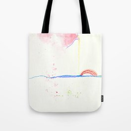 Drip Slop Tote Bag
