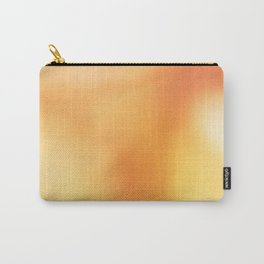 Abstract noise orange Carry-All Pouch