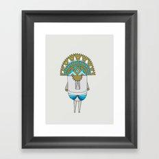 Mama Cocha Framed Art Print