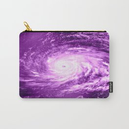 purple Hurricane Carry-All Pouch