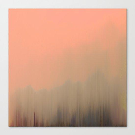 Empty Fog Canvas Print