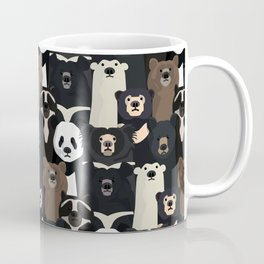 Bears of the world pattern Coffee Mug