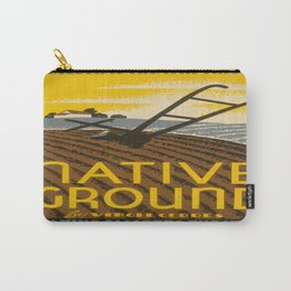 Vintage poster - Native Ground Carry-All Pouch