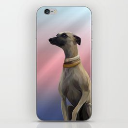 Walter The Whippet iPhone Skin